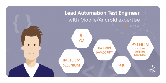 Lead Automation Test Engineer with Mobile/Android expertise