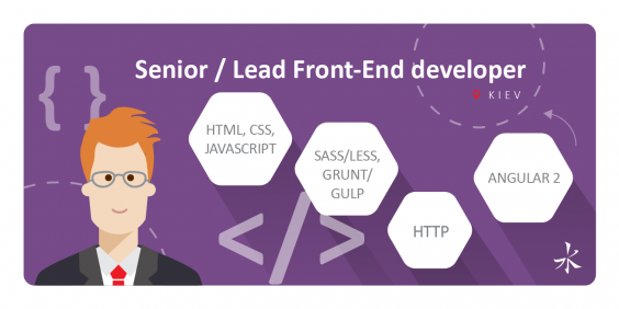 Senior / Lead Front-End developer (Angular 2)